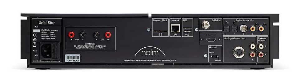 Naim Unity Star Rear